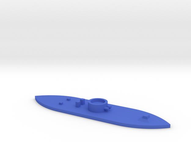 1/1200 USS Monitor in Blue Processed Versatile Plastic