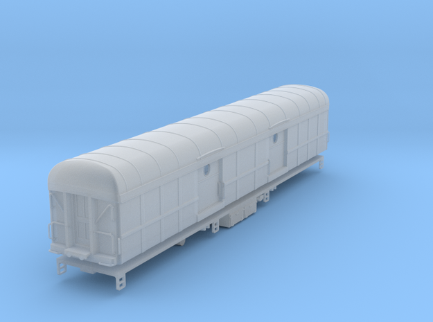N-scale (1/160) PRR B60b Baggage Car Porthole Door in Smoothest Fine Detail Plastic