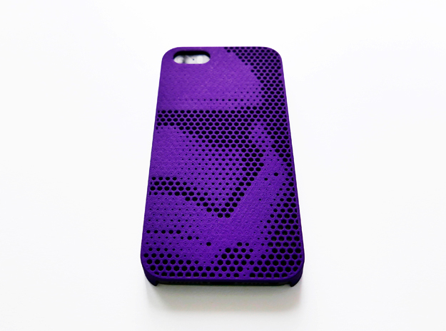 iPhone SE case_Stormtrooper Force Awakens in Purple Processed Versatile Plastic