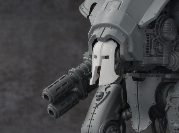 Mini Knight - Mk. 300 Mask in Smoothest Fine Detail Plastic