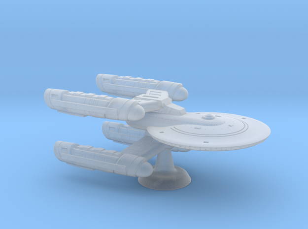 Terran Sperry Class Heavy Cruiser - 1:7000 in Smooth Fine Detail Plastic