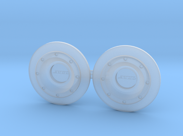 ATL Fuel Cap Bolted 1/10 Scale in Smoothest Fine Detail Plastic