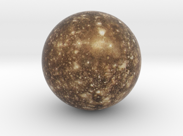 Callisto 1:250 million in Full Color Sandstone