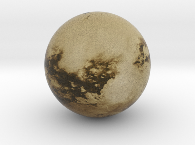 Cloudless Titan 1:250 million in Full Color Sandstone