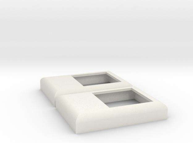 SD / F45 Winterization Hatch (S - 1:64) 2X in White Natural Versatile Plastic