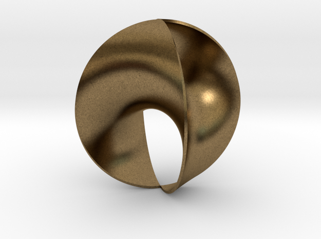 ring 1 4 2 dressed up slim in Natural Bronze: 7 / 54