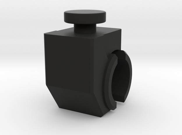 Patrick - Shoulder  in Black Natural Versatile Plastic