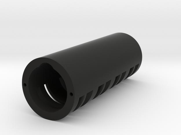 "Modular Chassis: 18650 Battery Holder: 0.99""  in Black Natural Versatile Plastic"