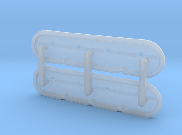 Factory style LS Valve Covers - 1/12 in Smoothest Fine Detail Plastic