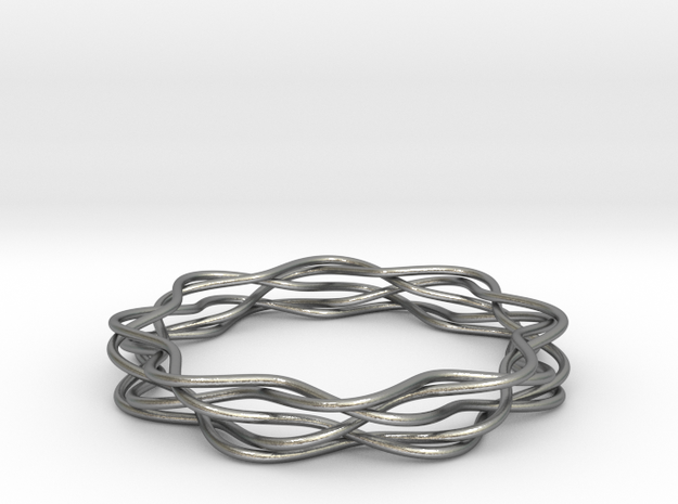 braid_02 in Natural Silver