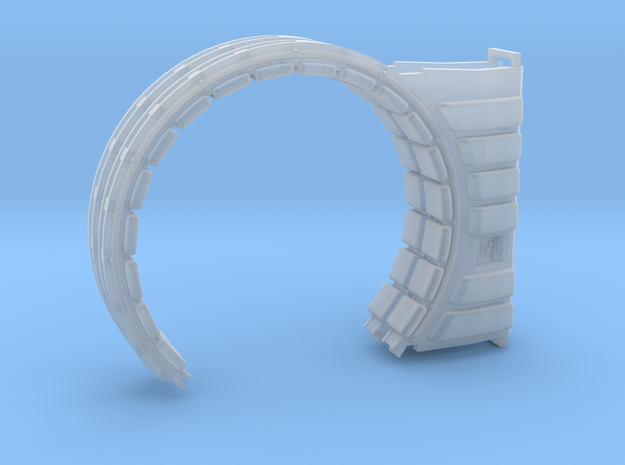 DeAgo Falcon Corridor - Turret Junction and Ring in Smoothest Fine Detail Plastic