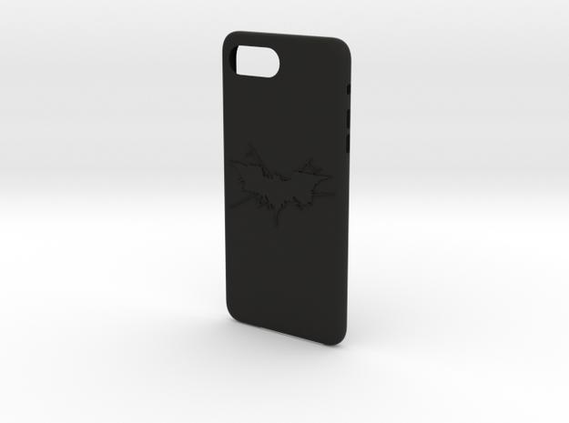 cases iphone 7 plus thema batman in Black Premium Versatile Plastic: Medium
