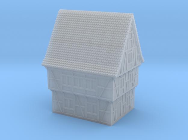Fachwerkhaus Type A, ~1200-1450, 6*8m, 1:285 / 6mm in Smooth Fine Detail Plastic