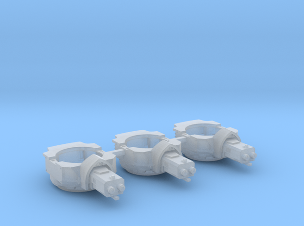 Heavy Transport Gun Turret - 3 Pack