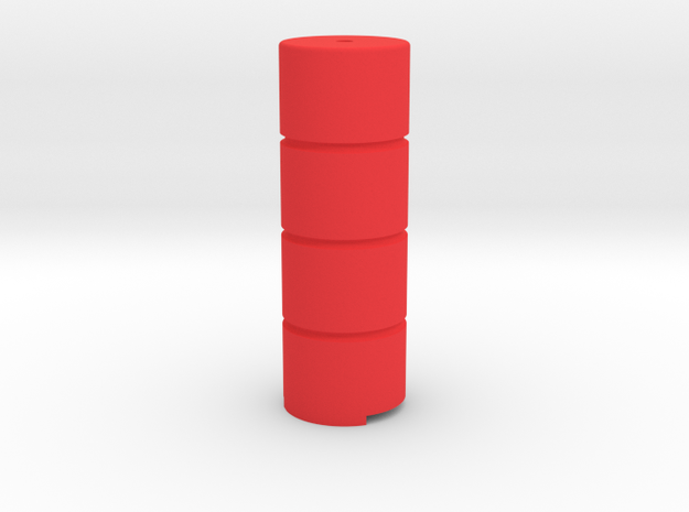 """Terminal module - Safety barrier """"LCpro"""" in Red Processed Versatile Plastic"""