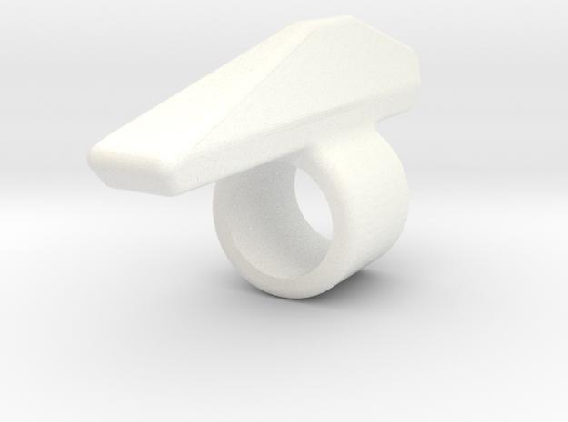 armblade in White Processed Versatile Plastic