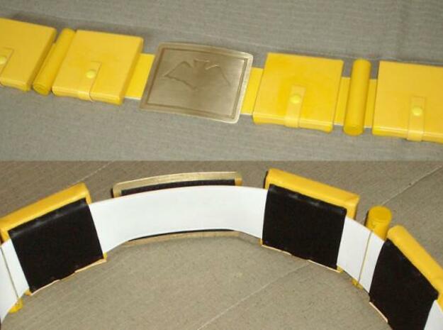 Batman Inspired Utility Belt styled Ring 3d printed