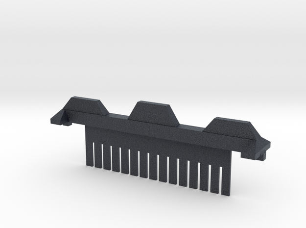 15 Tooth Electrophoresis Comb in Black PA12