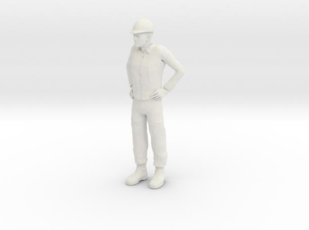 Foreman 1/24 in White Premium Versatile Plastic