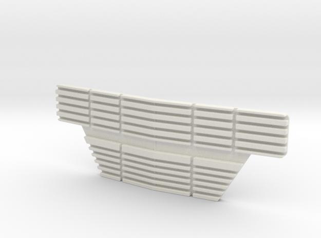 1/10 SCALE 70'S WINNEBAGO GRILL in White Natural Versatile Plastic