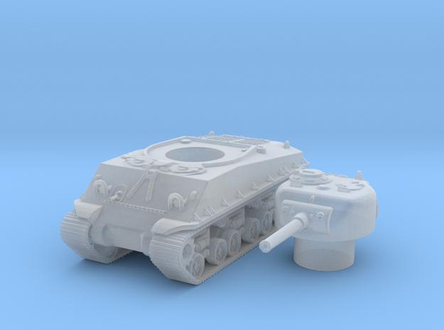 M4A3 e8 scale 1/100 in Smooth Fine Detail Plastic