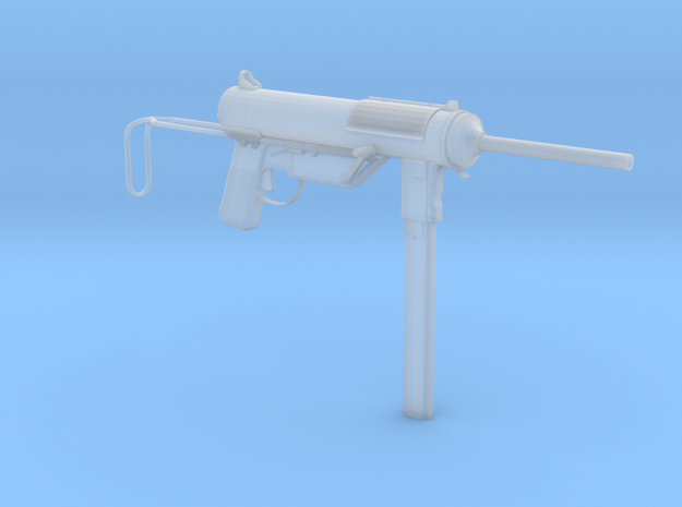 1/3rd Scale M3 Grease Gun  in Smooth Fine Detail Plastic