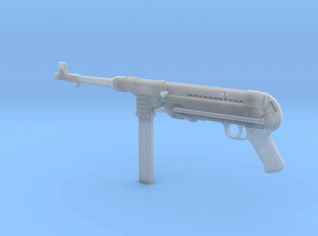 MP40 1/3rd Scale in Smooth Fine Detail Plastic