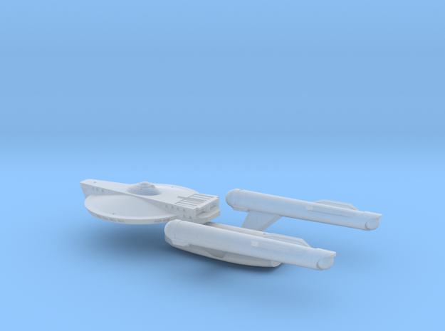 Confederation Courageous Class Scout Carrier in Smooth Fine Detail Plastic