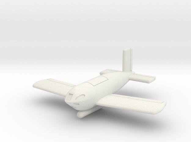 (1:144) Messerschmitt Me P.1103/I in White Natural Versatile Plastic