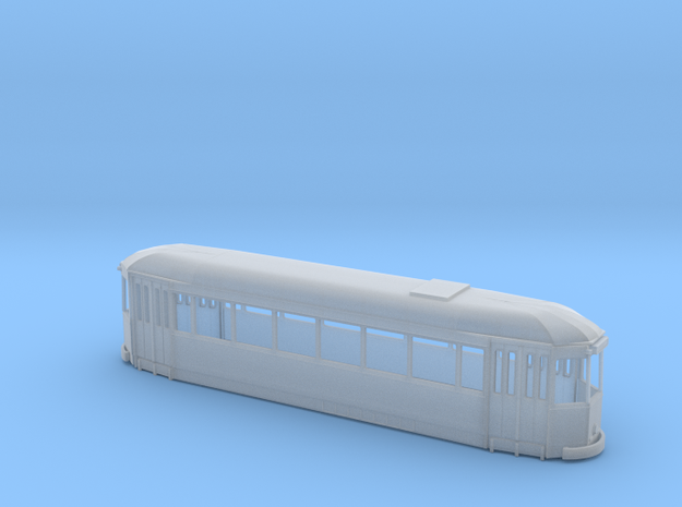 Lille ELRT body final HO scale in Smooth Fine Detail Plastic: 1:87 - HO