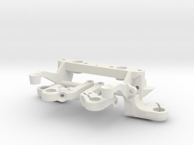 TRAIN AVANT BAS + TRIANGLES in White Natural Versatile Plastic