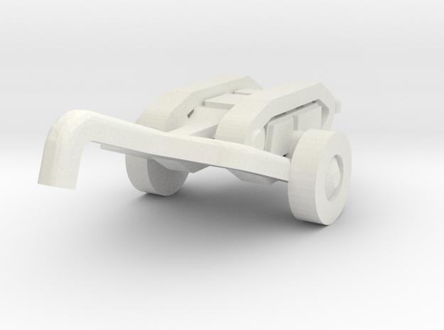goliath (with trailer) scale 1/160 in White Natural Versatile Plastic