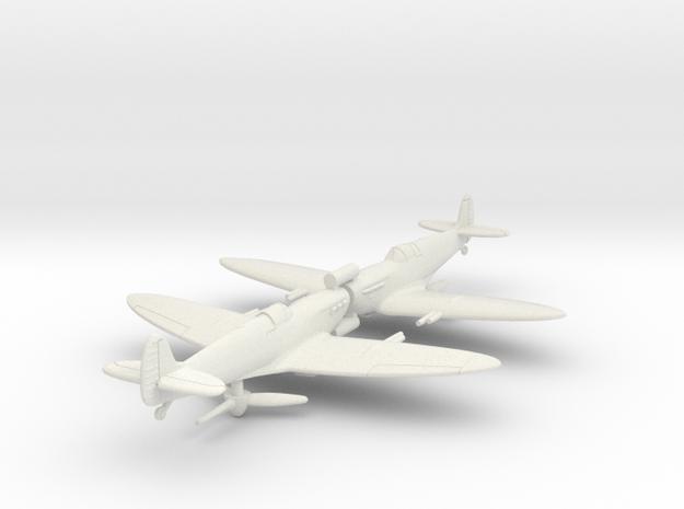 1/200 Spitfire MK VC in White Natural Versatile Plastic