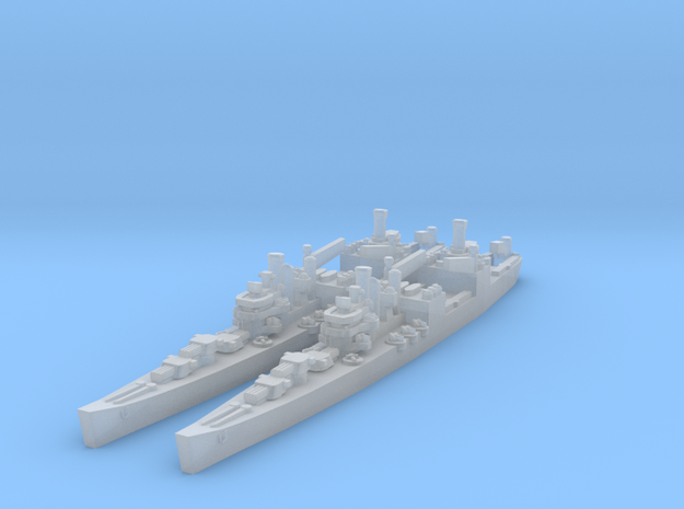 Brooklyn class Seaplane Tender (Axis & Allies) in Smooth Fine Detail Plastic
