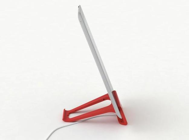 the perfect stand for iPad 2 in White Natural Versatile Plastic