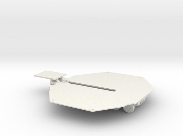 crazy chopper deck and trailer in White Natural Versatile Plastic