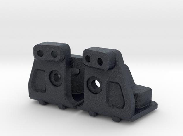 NRC Y24 Rear shock brackets in Black Professional Plastic