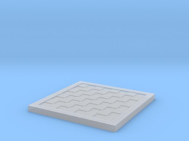 1/18 Scale Chess/Checkers Board (Bare)