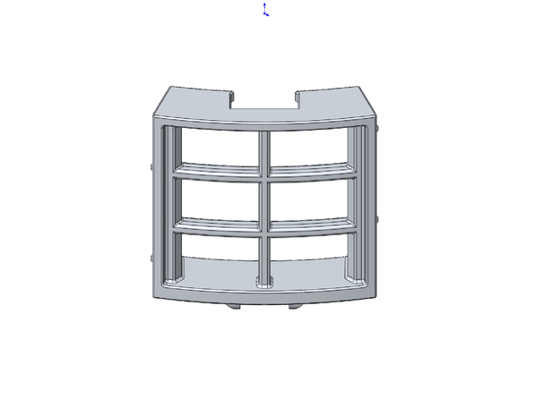Rokenbok Curved Window in White Strong & Flexible
