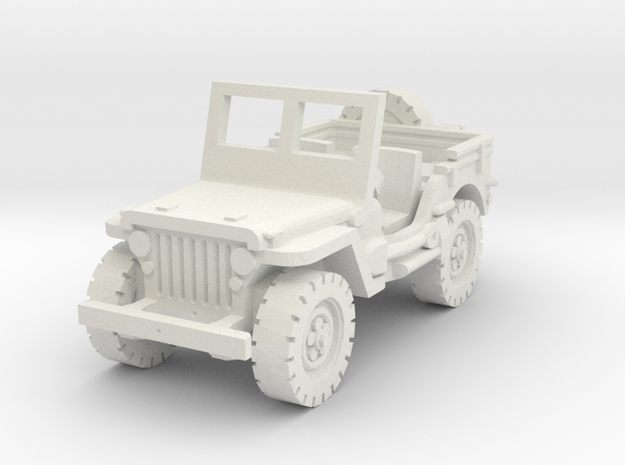 Jeep Willys scale 1/87