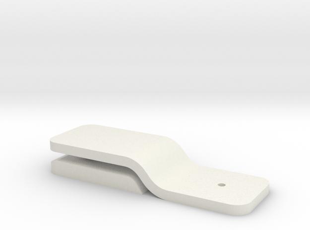 Thumbtack Photo Clip in White Natural Versatile Plastic
