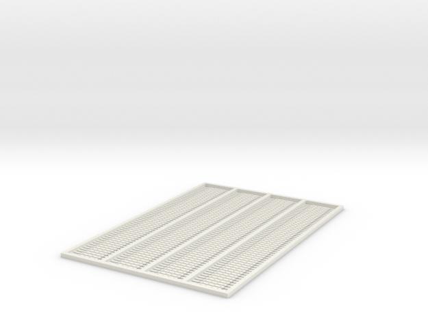 G-332 4 Bolt Fishplates x 200 in White Natural Versatile Plastic
