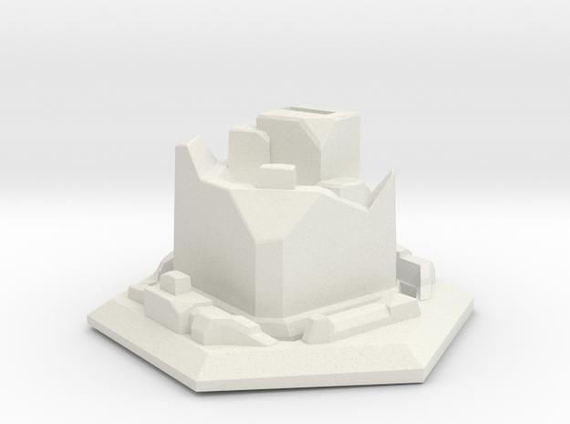 GKR Ruined Basse in White Natural Versatile Plastic