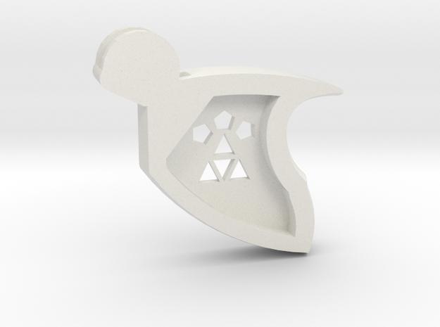 Monosling in White Natural Versatile Plastic