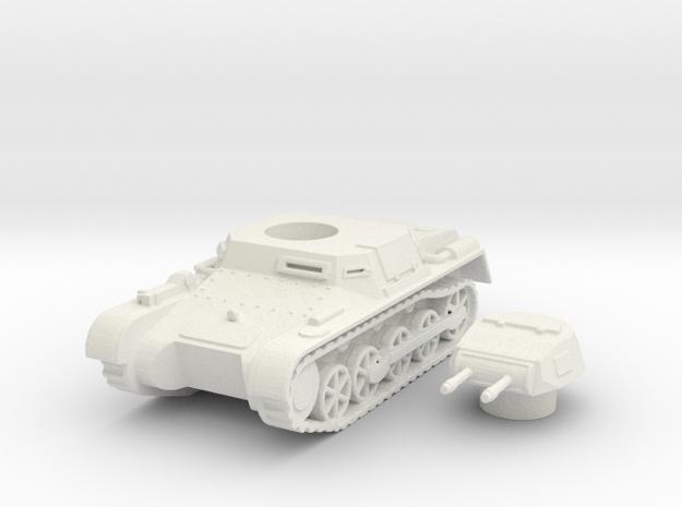 panzer I a scale 1/87 in White Natural Versatile Plastic