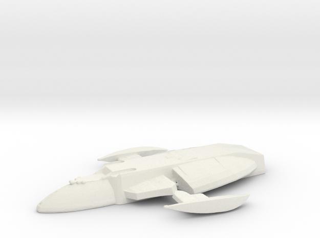 Jem'hadar Transport in White Natural Versatile Plastic
