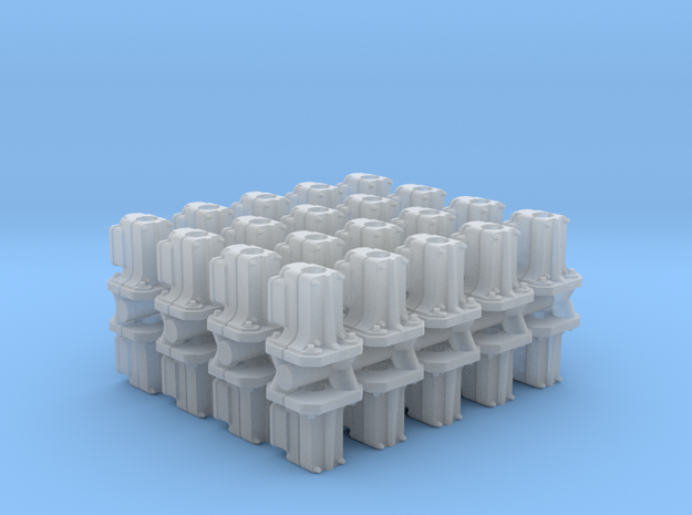 Safetran Signal Post Base (N - 1:160) 40X in Smoothest Fine Detail Plastic
