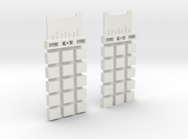 Terminator T-800 Modell 101 Chip Cpu in White Natural Versatile Plastic