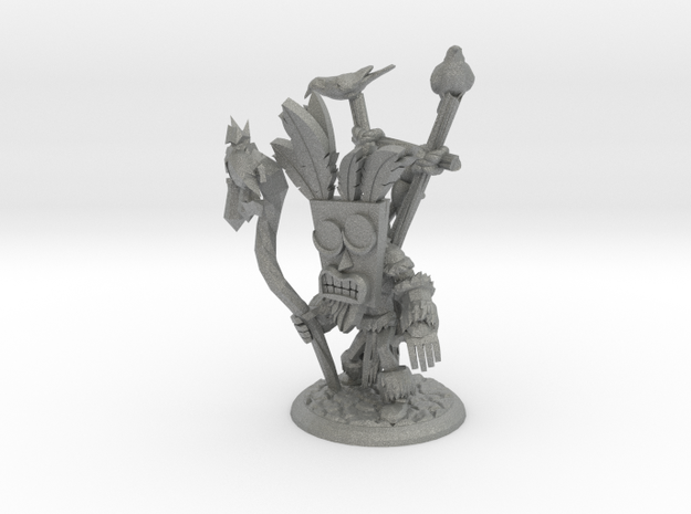 TOUFIC THE VOODOO SHAMAN in Gray Professional Plastic