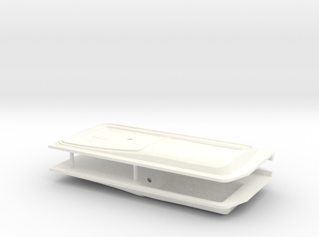 F150 Interior 058020-01Tamiya F150 Door Panels in White Processed Versatile Plastic